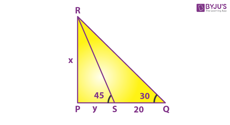 Problems on Height and Distance example 11