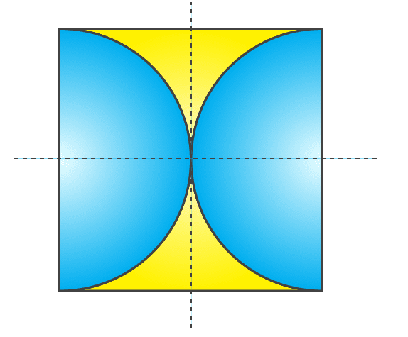 Symmetrical figures example