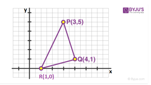 Determining the centre of mass of triangle - method 3