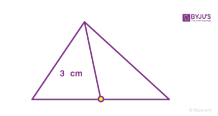 Determining centre of mass of triangle- method 2