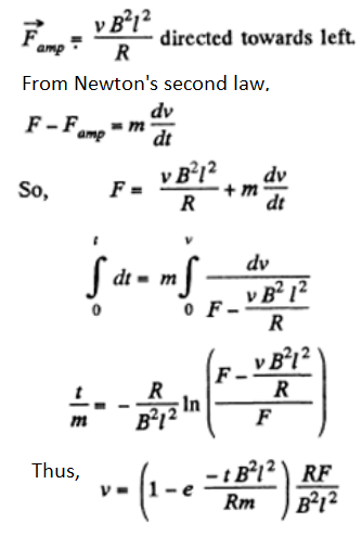 Electromagnetic Induction Maxwell's Equations Question 16