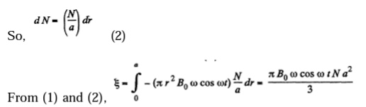 IE IRODOV Ch 3.6 Electromagnetic Induction Solution 19