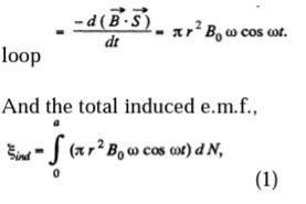 IE IRODOV Electromagnetic Induction Solution 19