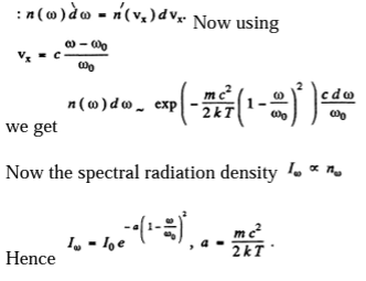 IE IRODOV Solution For Optics Of Moving Sources Question 15