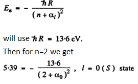 IE IRODOV Solutions Chapter 6.3 Solution 1