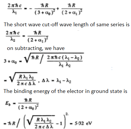 IE IRODOV Solutions Chapter 6.3 Solution 3