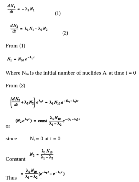 IE IRODOV Solutions Chapter 6.5 Radioactivity Solution 16