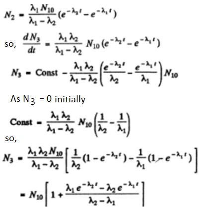 IE IRODOV Solutions Chapter 6.5 Radioactivity Solution 18