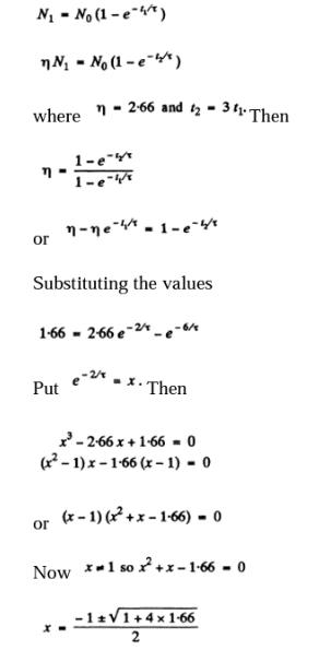 IE IRODOV Solutions Chapter 6.5 Radioactivity