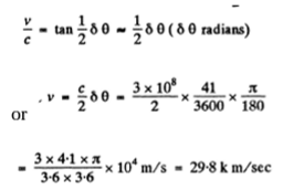 IE IRODOV Solutions For Optics Of Moving Sources Question 17