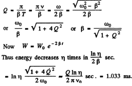 IE IRODOV Solutions on Electric Oscillations Question 17