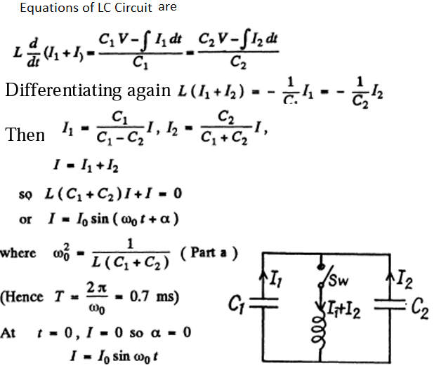 IE IRODOV Solutions on Electric Oscillations Question 5