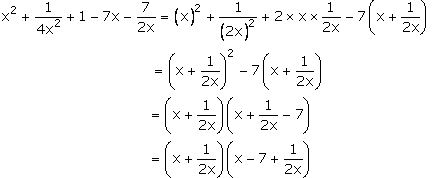 Concise Selina Solutions for Class 9 Maths Chapter 5 Factorisation - 1A