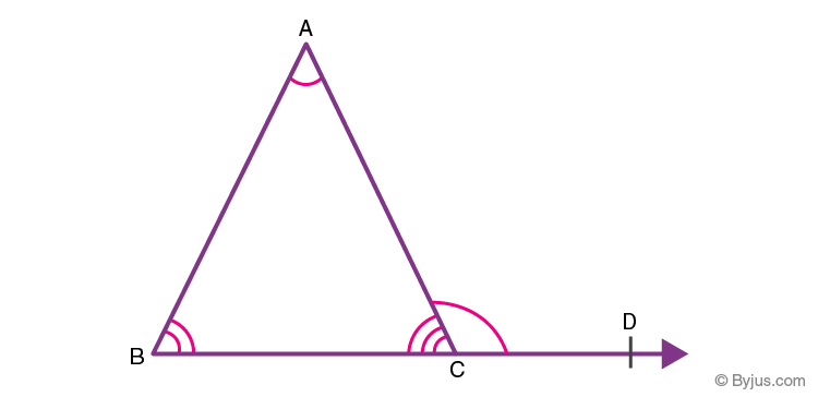 Exterior angle theorem 2