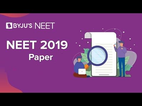 NEET 2019 Question Paper