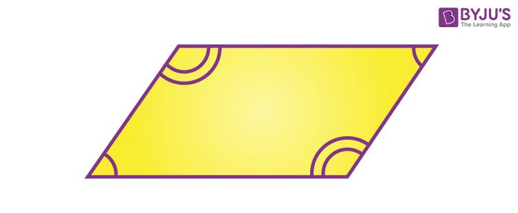 Angles of a Rhomboid