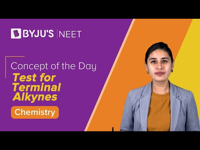 Test for Terminal Alkynes