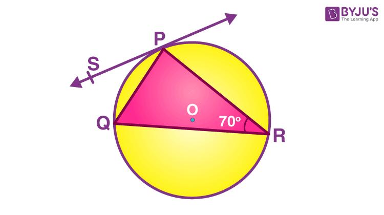 Alternate Segment Theorem Example 2