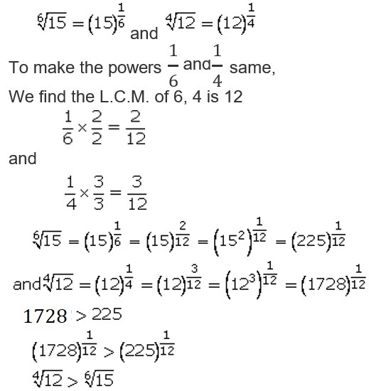Concise Selina Solutions for Class 9 Maths Chapter 1 Ex 1(B) - 3