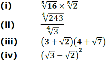 Concise Selina Solutions for Class 9 Maths Chapter 1 Ex 1(B) - 4