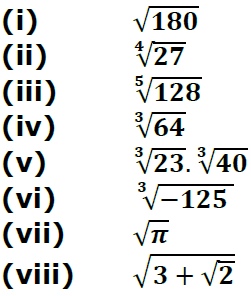 Concise Selina Solutions for Class 9 Maths Chapter 1 Ex 1(C) - 1