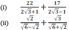 Concise Selina Solutions for Class 9 Maths Chapter 1 Ex 1(C) - 18