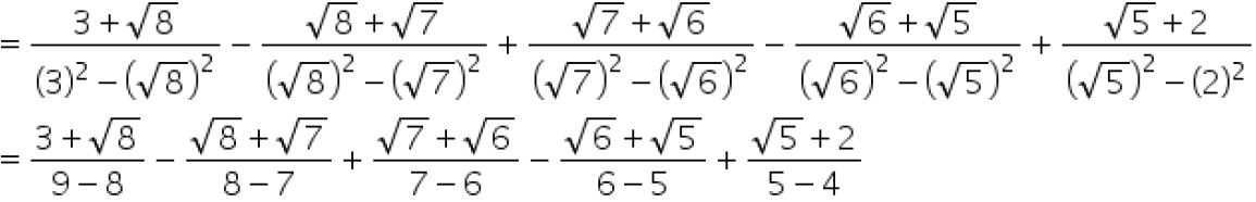 Concise Selina Solutions for Class 9 Maths Chapter 1 Ex 1(C) - 40
