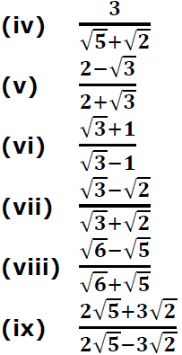 Concise Selina Solutions for Class 9 Maths Chapter 1 Ex 1(C) - 5