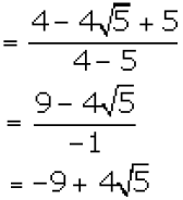 Concise Selina Solutions for Class 9 Maths Chapter 1 Ex 1(C) - 62