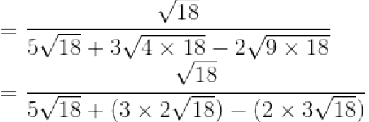 Concise Selina Solutions for Class 9 Maths Chapter 1 Ex 1(D) - 3