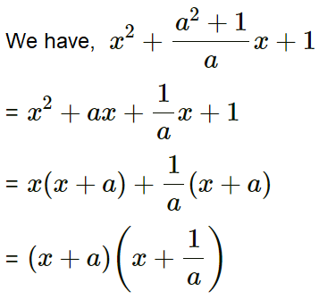 Concise Selina Solutions for Class 9 Maths Chapter 5 Factorisation - 2