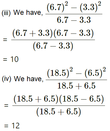 Concise Selina Solutions for Class 9 Maths Chapter 5 Factorisation - 4