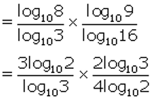 Concise Selina Solutions for Class 9 Maths Chapter 8 Logarithms - 6