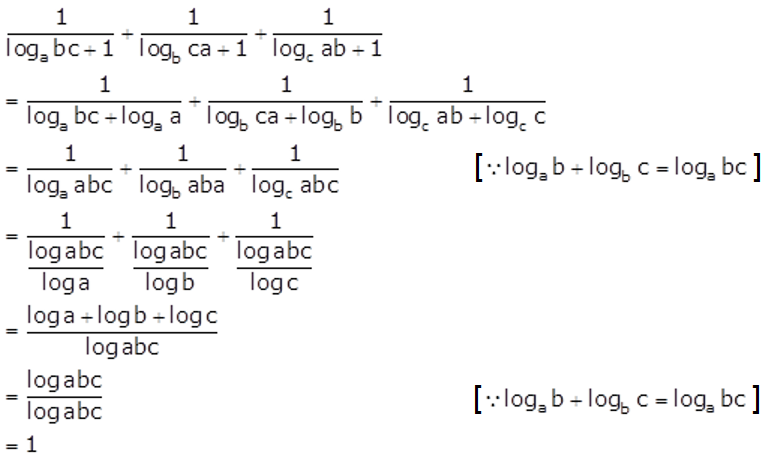 Concise Selina Solutions for Class 9 Maths Chapter 8 Logarithms - 8