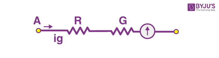 Galvanometer as Voltmeter