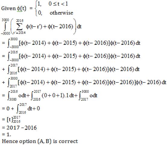 WBJEE Mathematics 2016 Solution Paper 4