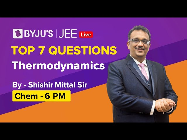 Thermodynamics Important Questions