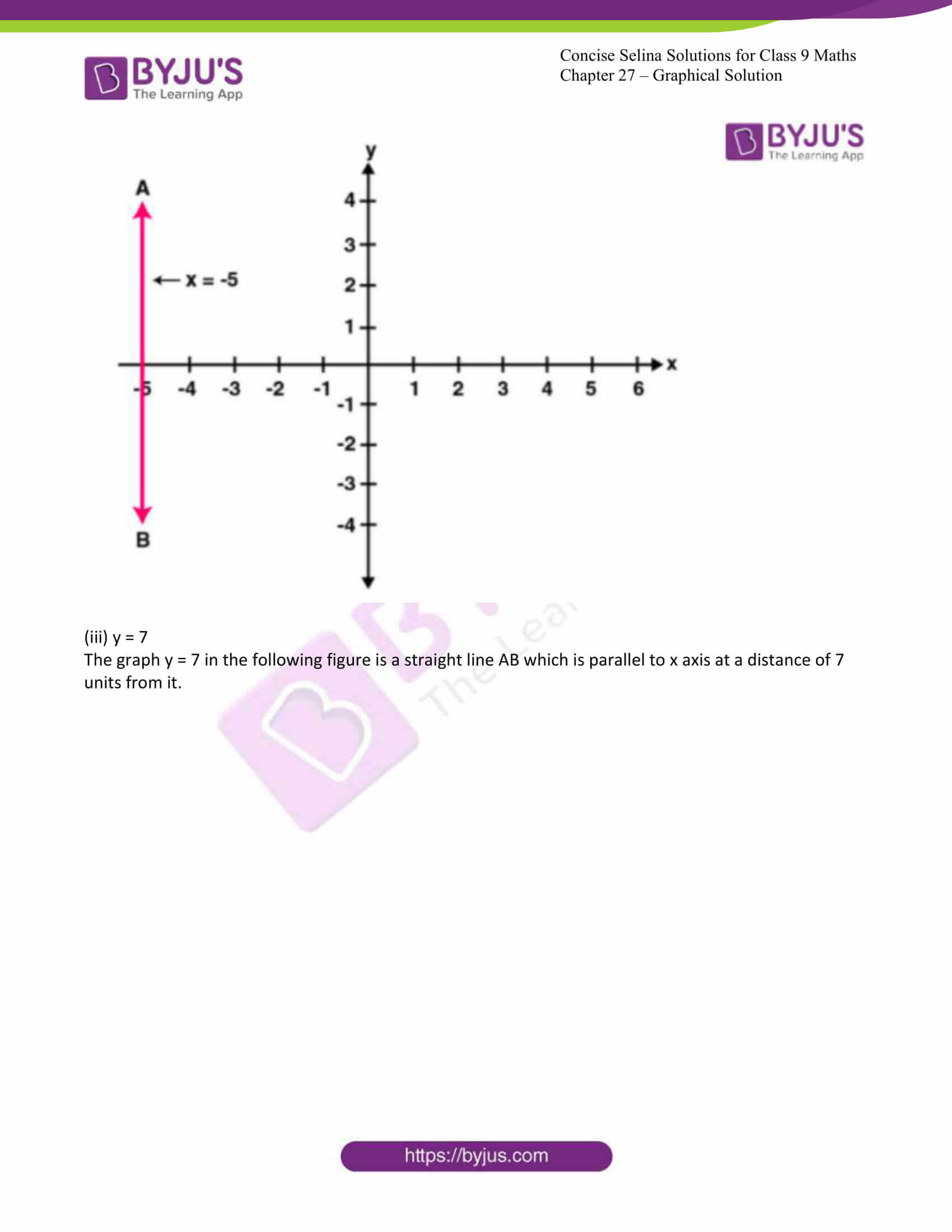 icse class 9 jun8 maths selina solutions chapter 27 graphical solutions 02