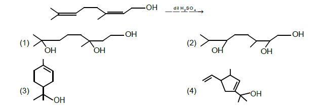 JEE Main 2020 Chemistry Shift 1 Answers