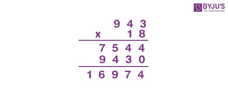 Multiplying decimals example 1