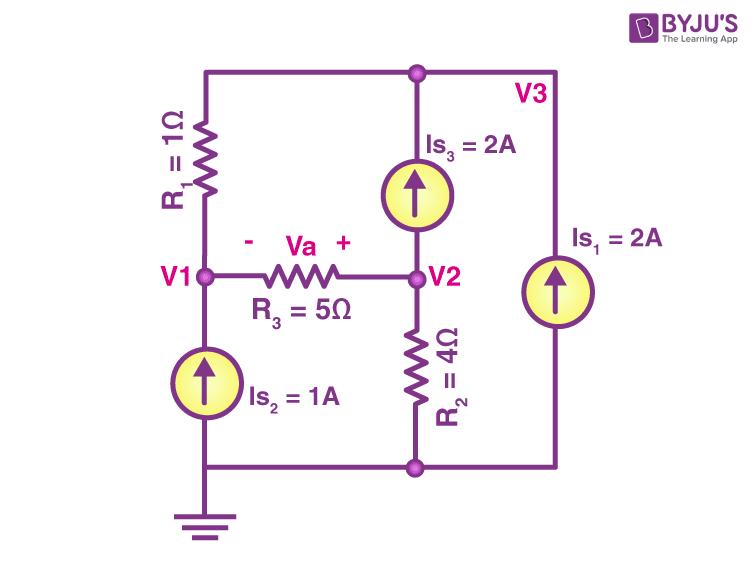 Nodal analysis example 2