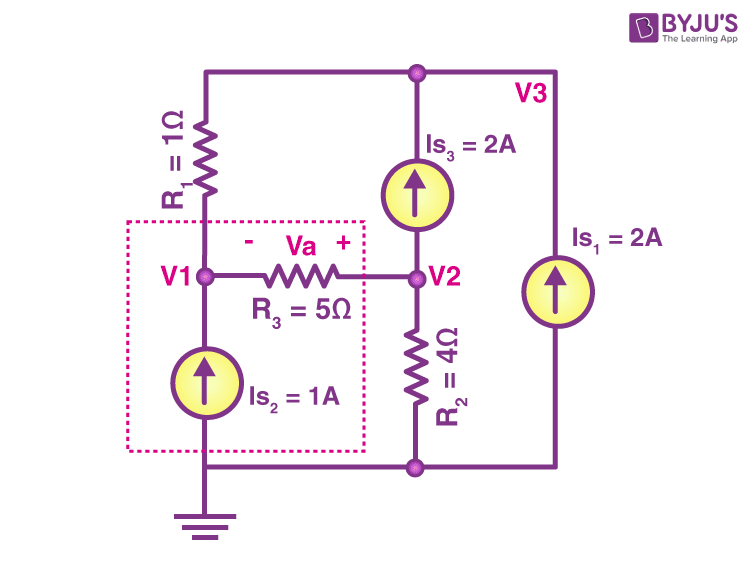 Nodal analysis example 3