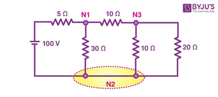 Nodal analysis example 5