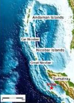 Great Nicobar Islands Map