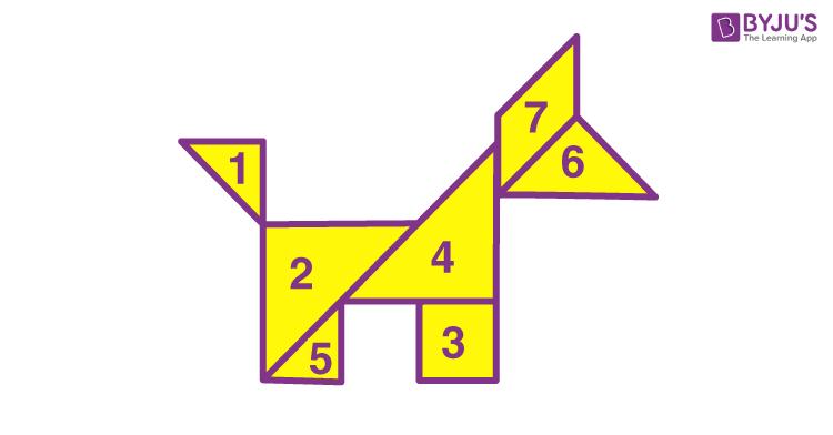 Tangram of animal