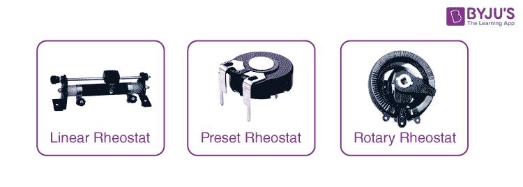 Types of Rheostat