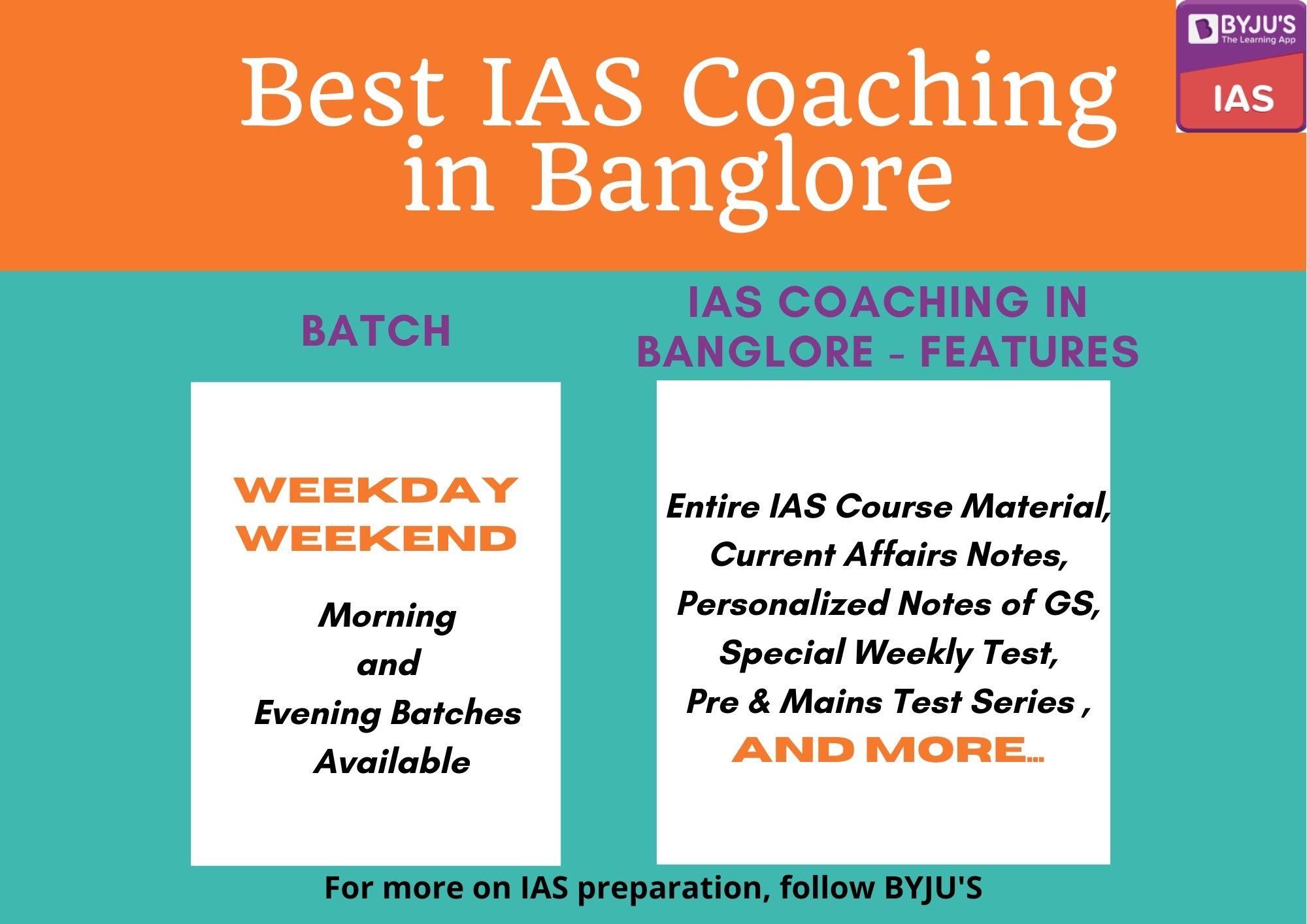 Best IAS Coaching in Banglore - UPSC Coaching in Banglore - BYJU'S
