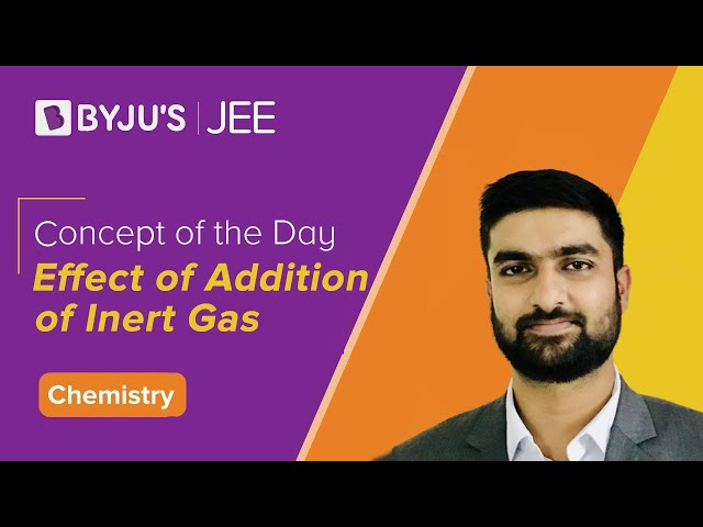 Effect of Addition of Inert Gas