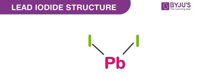 Lead iodide structure