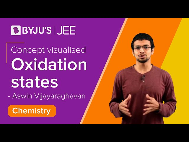 D and F block Elements - Oxidation States